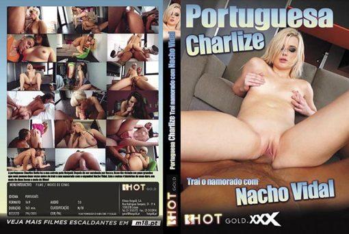 Portuguesa Charlize Trai O Namorado com Nacho Vidal
