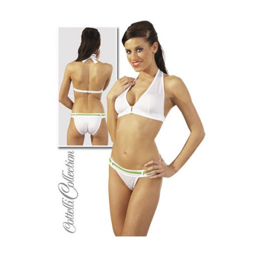 Bikini Branco Verde
