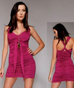 Mini Vestido Summer Fling Fourway Purple