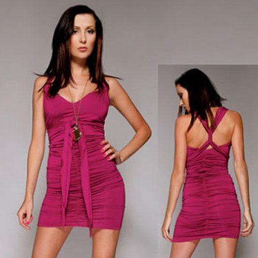 Mini Vestido Summer Fling Fourway Purple