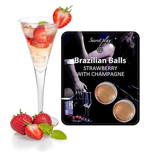 Brazilian Balls Champanhe Morango