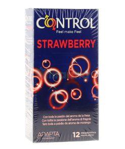 Preservativos Control Morango