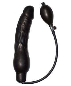 Dildo Black Latex Balloon