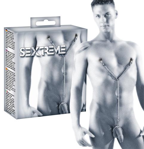 Sextreme Corrente Mamilos-Pénis
