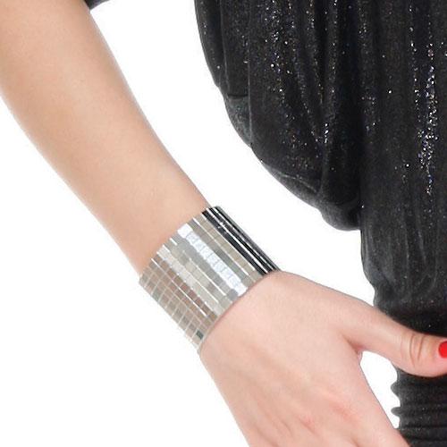 Pulseira Charming Cuff Silver