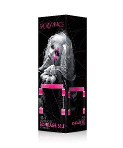 Cinto Pink Translucent Bondage Belt