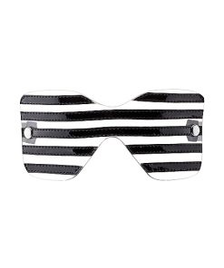 Venda Translucent Black Stripes Eye Mask