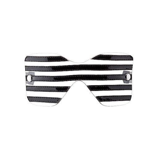 Venda Translucent Black Stripes Eye Mask
