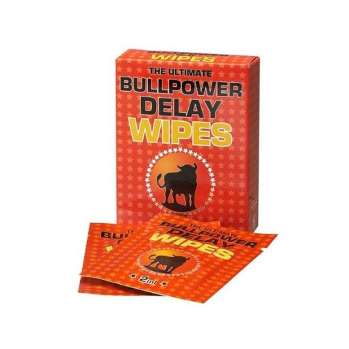 Bull Power Delay Wipes - Vibrolandia