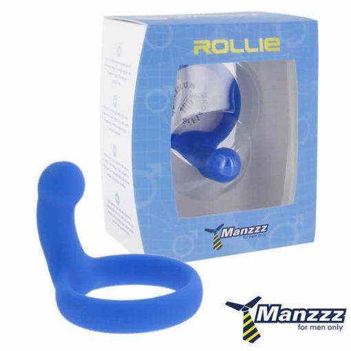 Rollie Blue - Anel e Massajador de perineo
