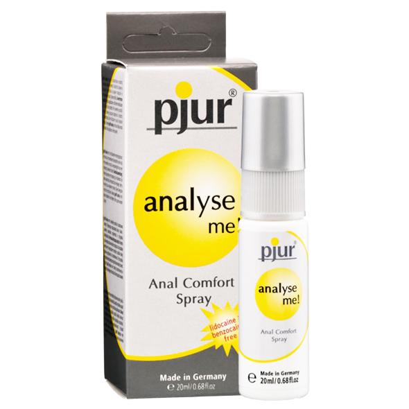 Spray Anal Pjur Analyse Me!