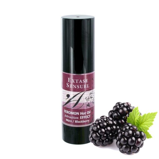 Extase Sensuel Feromon Hot Oil Blackberry (30ml)