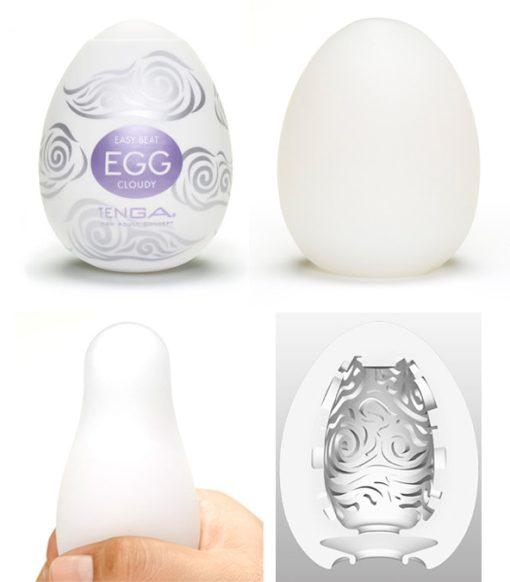 Masturbador Tenga - Egg Cloudy