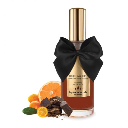 Óleo de Massagem Efeito Calor Dark Chocolate (100ml)