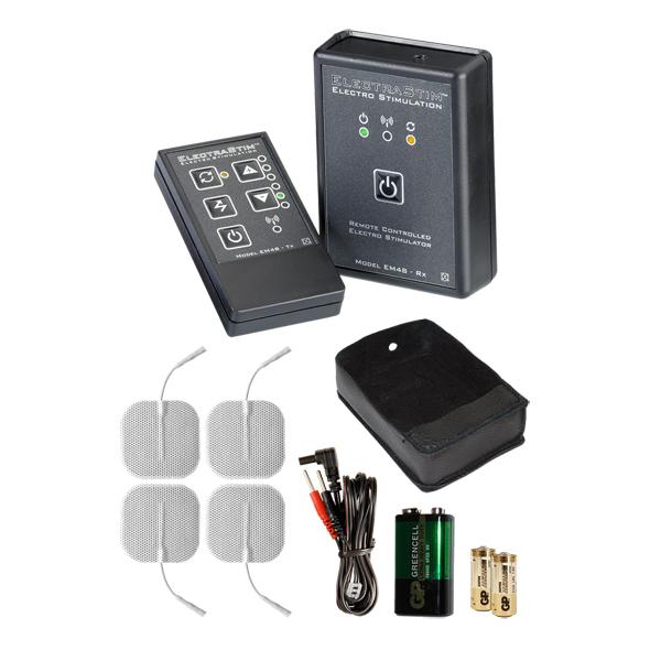 estimulador kit controle remoto electrastim