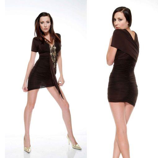 Mini Vestido Fourway Black