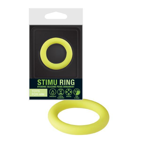 Anel Stimu silicone verde 9,90€
