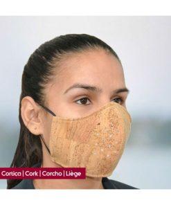 cortiça máscara
