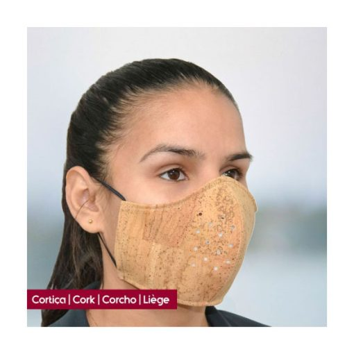 Máscara de Cortiça Reutilizável - Vibrolandia