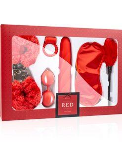 I Love Red Caixa Casal