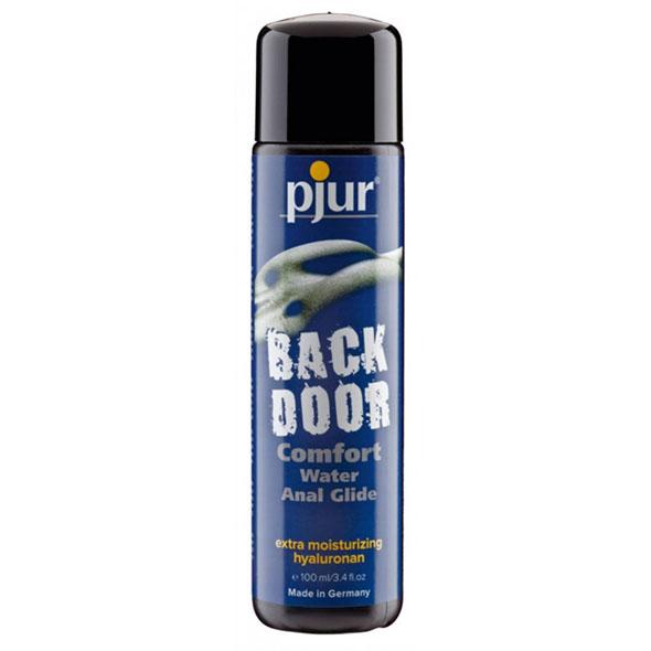 backdoor anal water