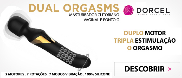 Masturbador Wand Dual Orgasms Marc Dorcel - Vibrolandia