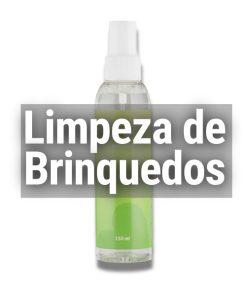 LIMPEZA DE BRINQUEDOS