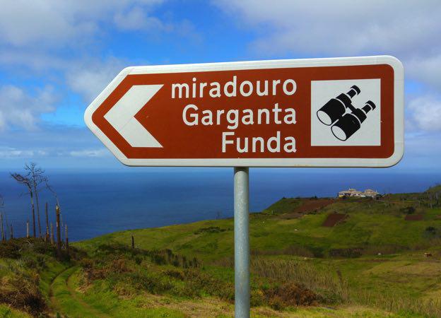 Miradouro-Garganta-Funda Portugal tem picha
