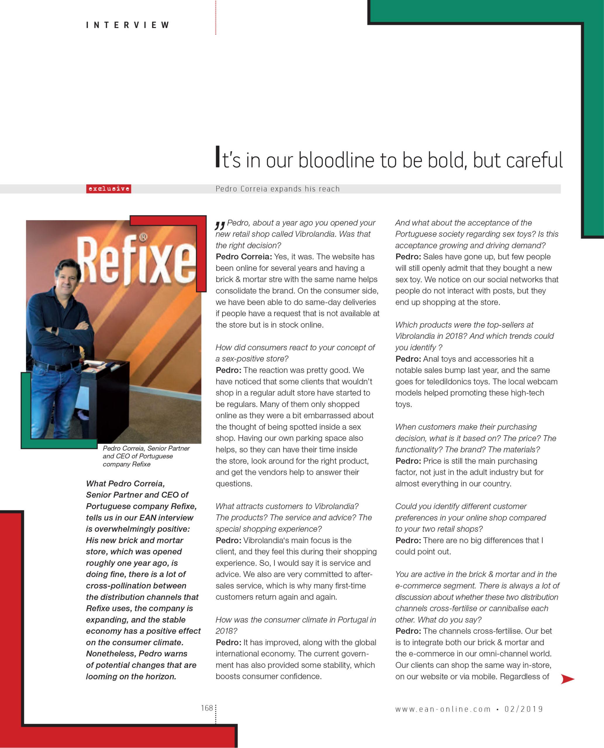 Entrevista Vibrolandia EAN Magazine pg1
