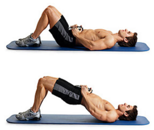 weighted-hip-raise