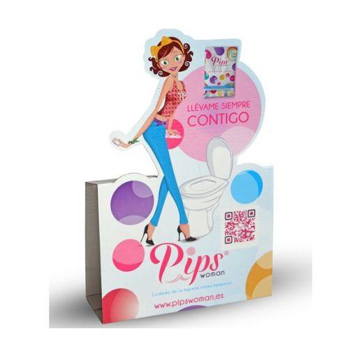 Pips Woman Facilitador Urinário - Vibrolandia