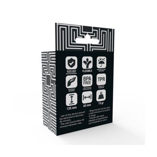 Addicted Toys Kit Anéis Transparentes - Vibrolandia