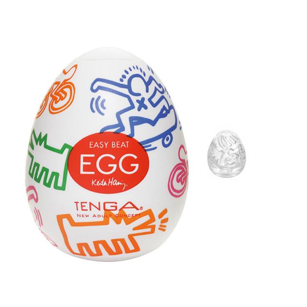 tenga egg stree keith haring