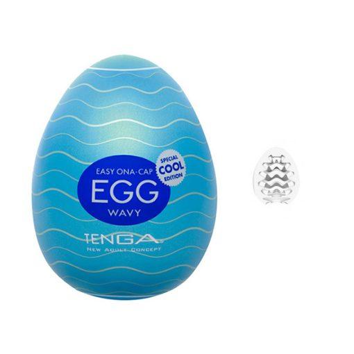 Masturbador Tenga Egg Wavy Cool - Vibrolandia