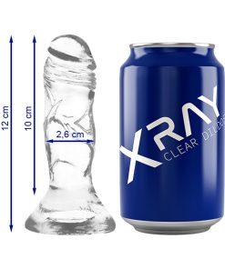 Dildo Jelly 12CM XRay - Vibrolandia