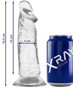 Dildo Jelly 16,5CM XRay - Vibrolandia