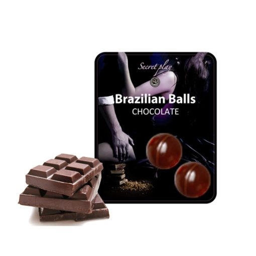 Brazilian Balls Chocolate - Vibrolandia
