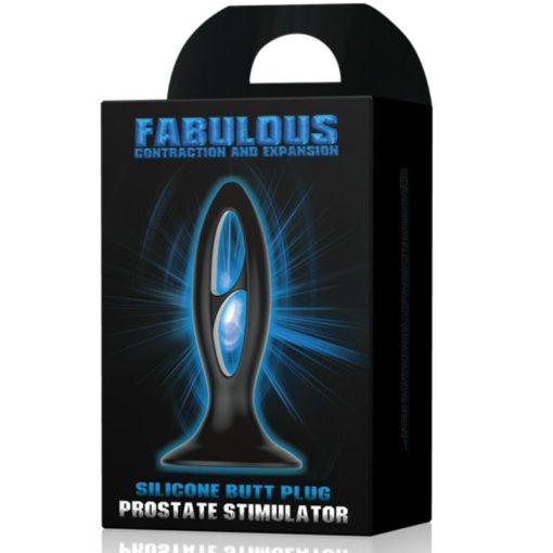Plug Estimulador Próstata Fabulous - Vibrolandia
