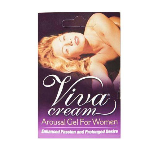 Viva Cream Excitante Feminino (4ML) - Vibrolandia