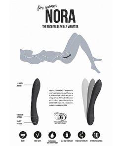 Vibrador Recarregável Nora - Vibrolandia