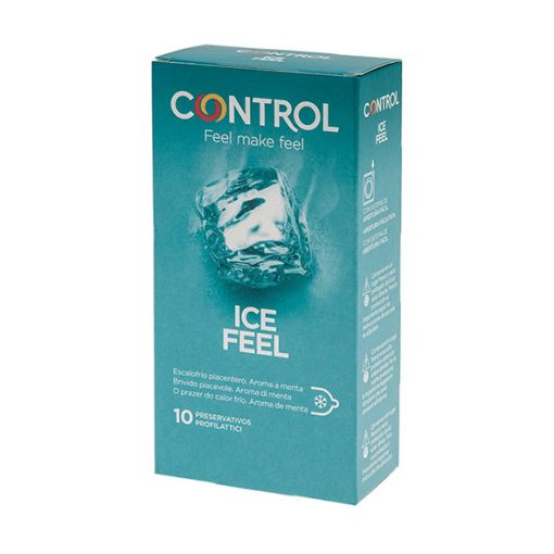 Preservativos Control Ice Feel (10 UN) - Vibrolandia