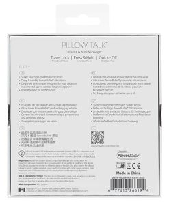 Bullet Flirty Pillow Talk - Vibrolandia