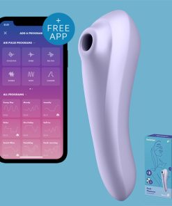 Satisfyer Sugador Dual Pleasure Ponto G - Vibrolandia