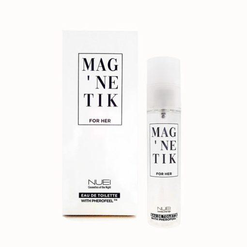Perfume Feromonas Mag'Netik Para Ela (50 ML) - Vibrolandia