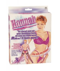 Boneca Hannah - Vibrolandia