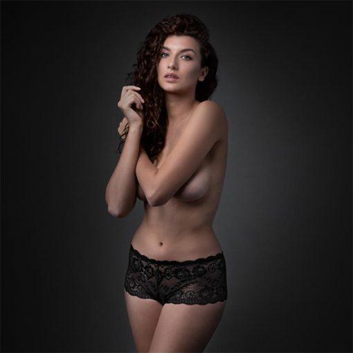 Mila Shorty Aberto Underneath - Vibrolandia