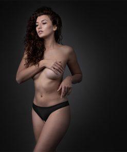 Jade Tanga Aberta Pérolas Underneath - Vibrolandia