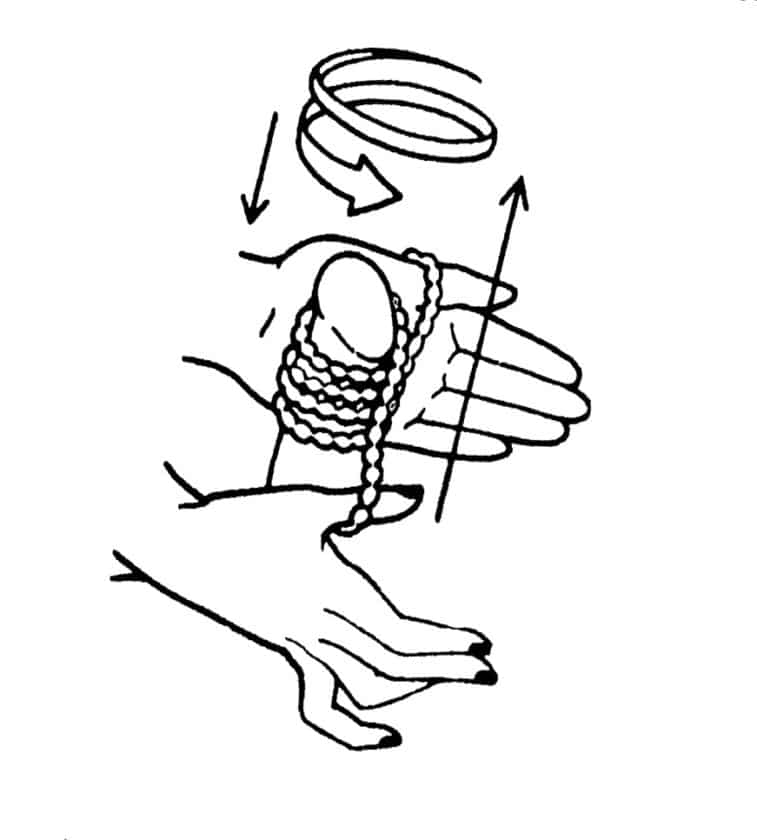 massagem pérolas